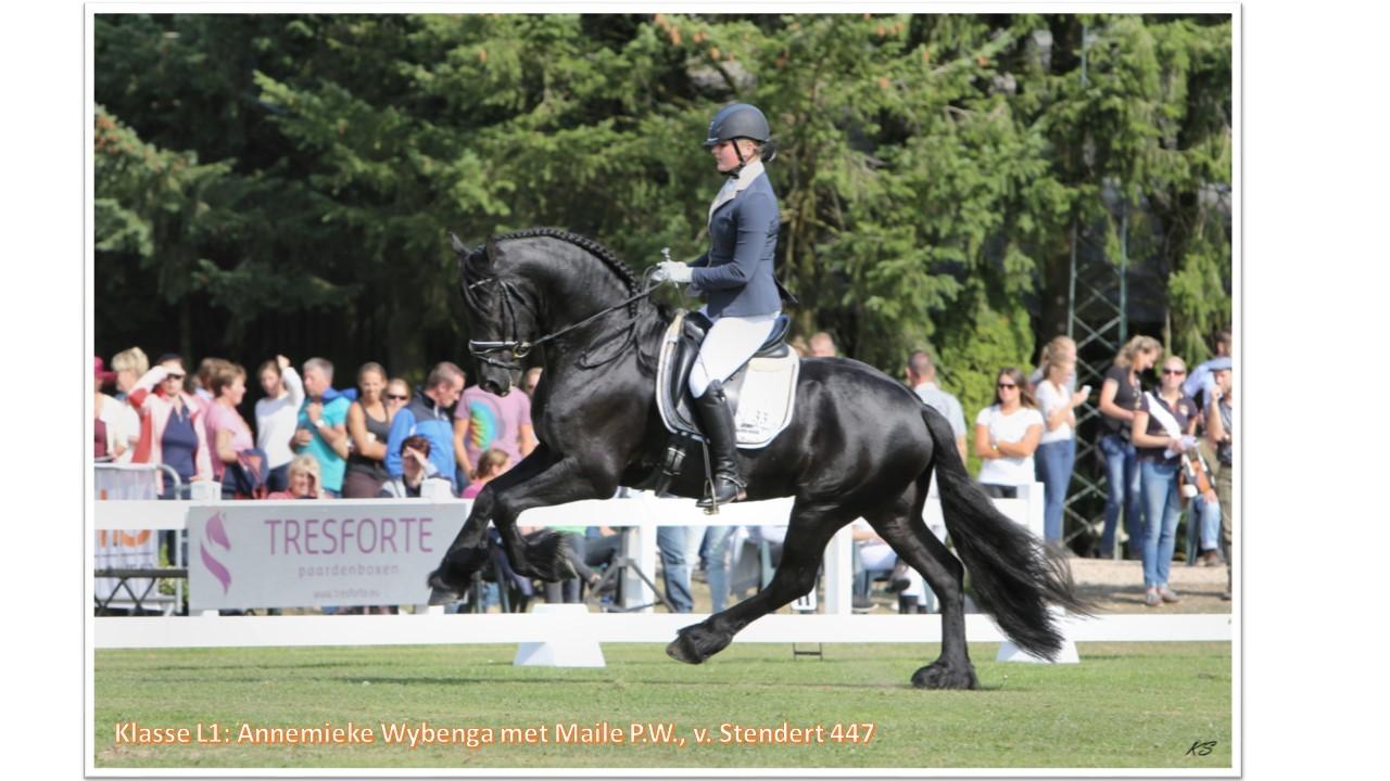 Klasse L1_ Annemieke Wybenga met Maile PW, v. Stendert 447
