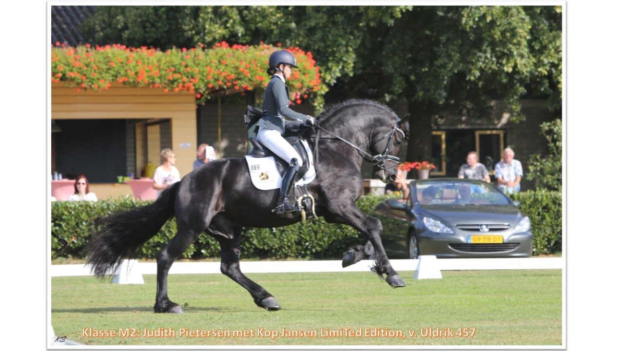 Klasse M2_ Judith Pietersen met Kop Jansen Limited Edition, v. Uldrik 457