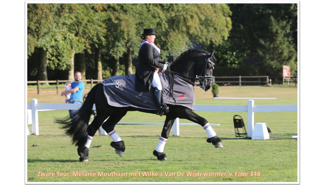 Zware Tour_ Melanie Mouthaan met Wilke-C van de Wijdewormer, v. Fabe 348